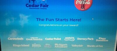 E Tickets To Cedar Point Ohio - King's Island -Theme Park Or Any Listed For 2019