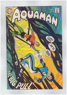 Aquaman # 51  I Can't Hold on to You !  grade 9.0 scarce book !