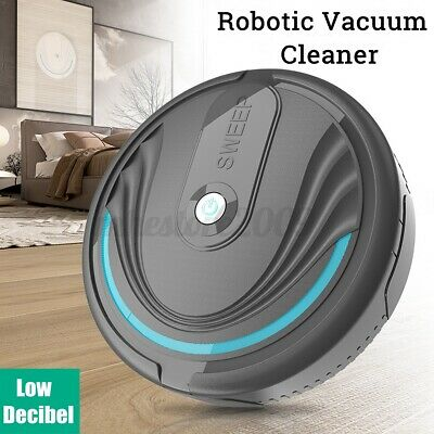 3-In-1 Self Navigated Smart Robot Vacuum Cleaner Rechargeable Auto Sweeper UK