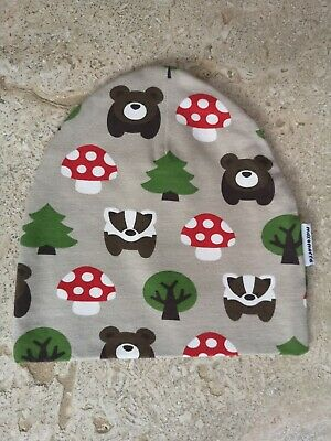 New Maxomorra forest Beanie Hat 48/50 Age 1-2 Years
