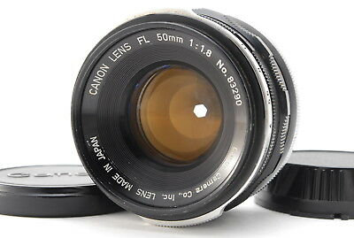 **Exc++++** Canon FL 50mm f/1.8 MF Lens  Serial No,83290 From Japan #44