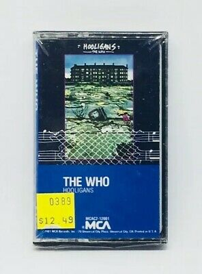 the who hooligans new sealed cassette tape