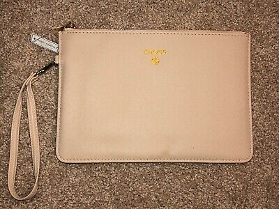 """NWT Simply Southern """"#BOSS"""" Zippered Clutch with Removable Hand Strap"""
