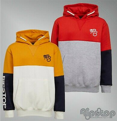Boys Ripstop Printed Brushback Fleece Sweatshirt Sizes Age from 5 to 14 Yrs