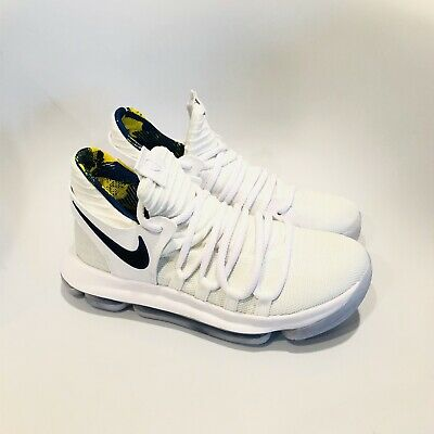 the latest ce387 ceafc Nike Zoom KD 10 Limited NBA GS Shoes Golden State Warriors 6.5Y Youth AJ7781 -