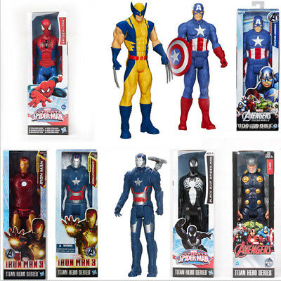 """Marvel Avengers 12"""" inch Action Figures Titan Hero Series Official Hasbro Gifts"""