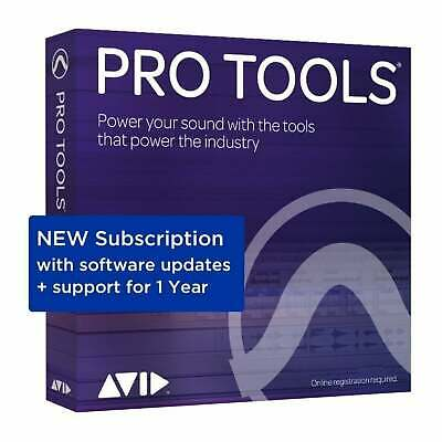 Avid Pro Tools 2018.12 Annual Subscription (Serial Download)
