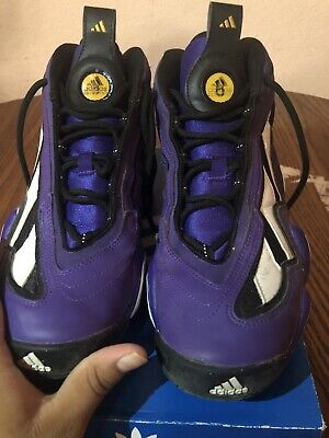 fed2951095 ADIDAS CRAZY 97 Eqt Purple Dunk Contest Kobe Size 10.5 - $50.00 ...