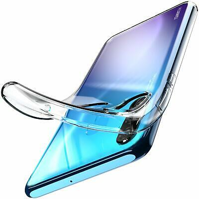 For Huawei P30 Lite Clear Gel Case Transparent Clear Silicone TPU Gel Back Cover