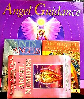 PRICED TO SELL! Doreen Virtue-Rare Divination Package Angel