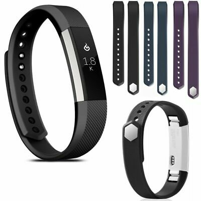 3-Pack Replacement Silicone Wristband Strap Watch Band for Fitbit Alta/Alta HR