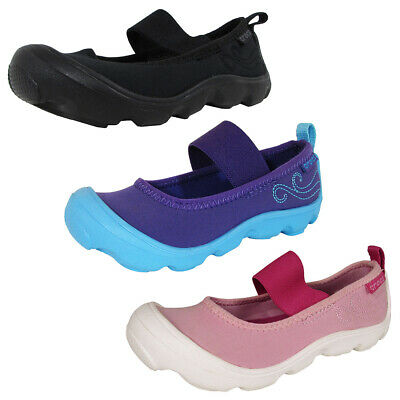 5770d5d61ab7a KIDS' CROCS DUET Busy Day Mary Jane Girls Shoes Size 2 Brand New ...