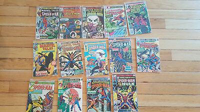 Lot of 14 Spider-Man Comic Books Marvel Amazing King Size and More