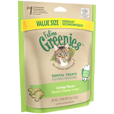 GREENIES - Feline Dental Treats Catnip Flavor - 5.5 oz. (156 g)