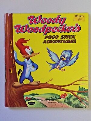 VINTAGE 1954 WHITMAN Woody WoodPecker Picture Jig Saw Puzzle-Rare