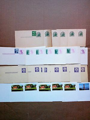Vintage U.S. 1c Jefferson Postal Card x's (7) Plus many others! Estate Lot! LOOK