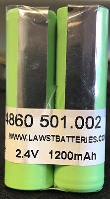 Brand New 2.4V 1500MAH EPPENDORF Research Pro Replacement Battery 4860 501.002