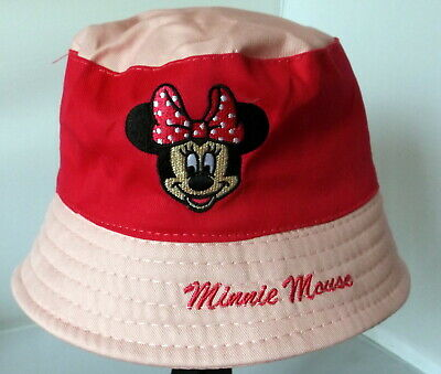 Children's Cotton Bucket Hat - Minnie