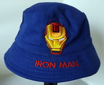 Children's Cotton Bucket Hat - Iron Man