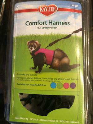 "KAYTEE Comfort Harness w/ Stretchy Leash ""Large""(Chinchillas, Ferrets & Rabbits)"