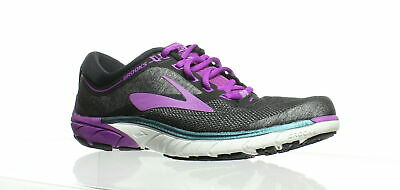 84c3a86bb7781 BROOKS WOMENS PURE Cadence 7 Black Running Shoes Size 8.5 (229308 ...
