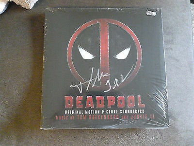 Deadpool OST 2xLP Colored Vinyl Soundtrack Junkie XL Signed Limited Edition NEW