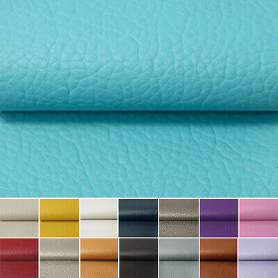 Faux Leather Lychee Fabric PU Leather Upholstery Vinyl Leatherette Leathercloth