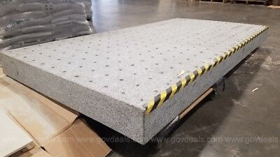 Tested 8' Optical Granite Inspection Table Newport Isolation Surface Plate