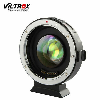 VILTROX EF-M2 Speedbooster Adapter M43 Lens Electronic Focus for Canon