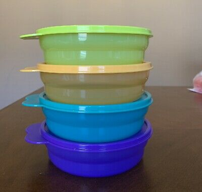 Tupperware Microwave Reheatable Cereal Bowls