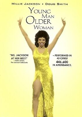 Millie Jackson -DVD- Young Man Mayores Mujer - Nuevo Factory Sealed DVD