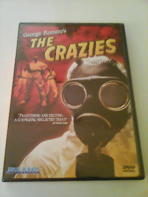 The Crazies DVD BOTH MOVIES 1 New 1 Used George A Romero OOP Blue Underground