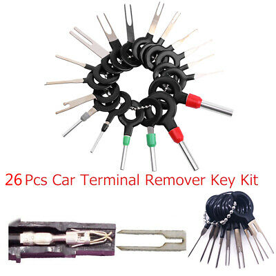 New 26 x Car Terminal Removal Tool Wire Plug Connector Extractor Release Pin