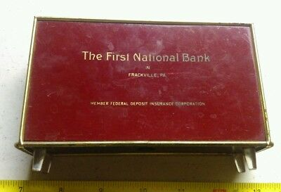 Jennerstown Pennsylvania Peoples State Bank Military Insignia Advertising Special Buy Other Banking & Insurance