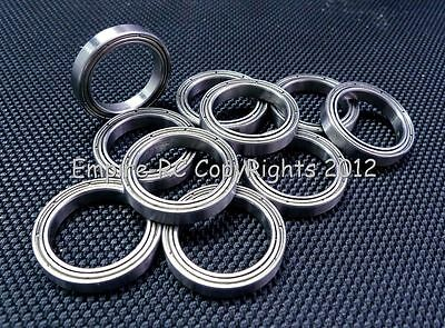 (10 PCS) 6708ZZ (40x50x6 mm) Metal Shielded PRECISION Ball Bearing Set 6708z