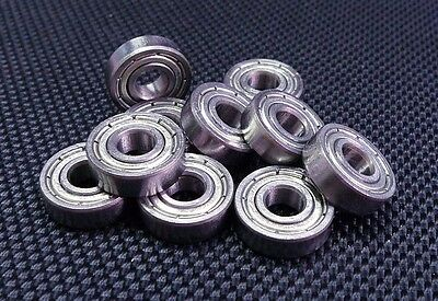 695ZZ (5x13x4 mm) Metal Shielded PRECISION Ball Bearing (PICK YOUR QUANTITY)