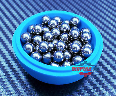 "(50 PCS) (6mm 0.2362"") 201 Stainless Steel Loose Bearing Balls G100 Bearings"