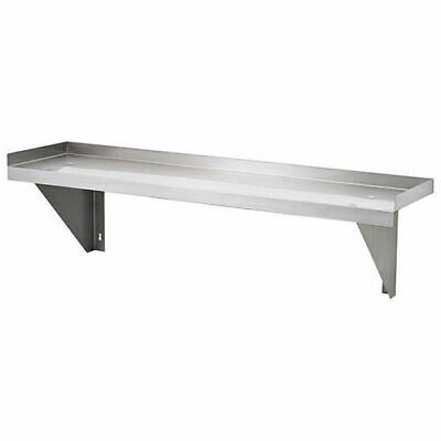 Wall Shelf, Solid, Stainless Steel, 900x300x300mm, Kitchen Shelving / Shelves