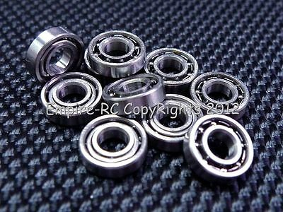 (10 PCS) 683 (3x7x2 mm) Metal OPEN PRECISION Miniature Ball Bearing 3 7 2