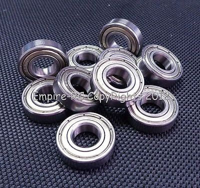 (10 PCS) 6300zz (10x35x11mm) Metal Shielded PRECISION Ball Bearing Set 10 35 11