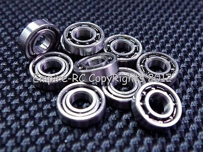 (25 PCS) 686 (6x13x3.5mm) Metal OPEN PRECISION Ball Bearing Set 6 13 3.5