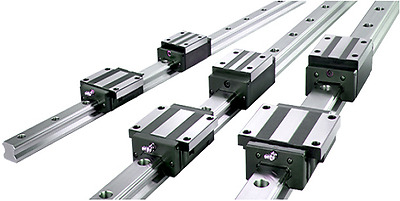 Linear Rail 2XSBR20-1200mm Rails 4XSBR20UU Blocks CNC Routers Bearing Lathes