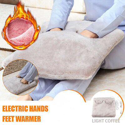 AU Electric Washable Flannel Foot Feet Hand Body Heat Mat Heating Pad Cushion