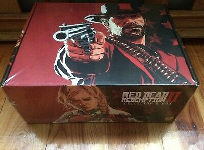 Red Dead Redemption Ii 2 Collector's Box New Collectors Edition Ps4 Xbox One