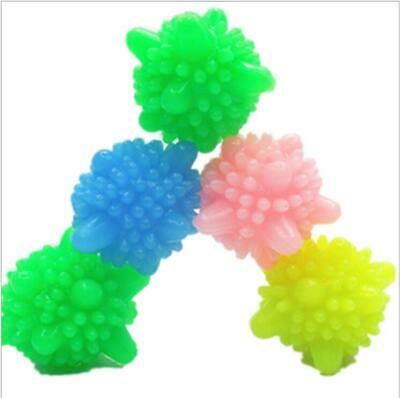 5X Magic Laundry Dryer Ball Wrinkle Remover Steam Dry Ball Fabric Softening Hot