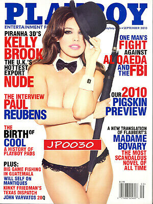 Playboy September 2010, Kelly Brook, Brand New Factory Sealed