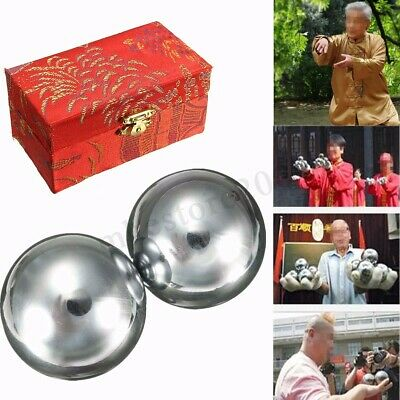 Chinese Health Exercise Stress Baoding Balls Relaxation Therapy Steel
