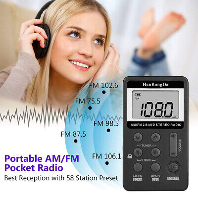 Portable LCD Radio Stereo Speaker AM//FM//AM//SW// CB//Air//VHF Full Band Radio D0W9