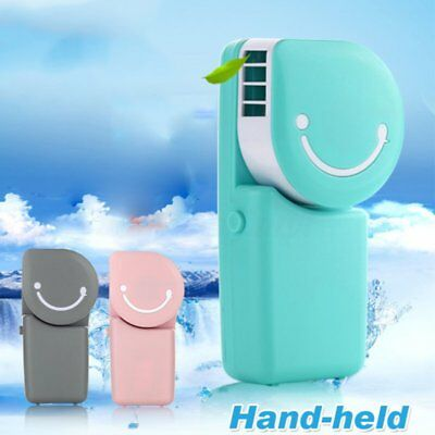 Mini Air Conditioner Cooler Cooling Fan Hand Held Portable USB/Battery