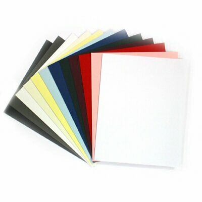 Packs of Acid Free Mount Board White Ivory Grey Black Blue Pink Green Red Plum